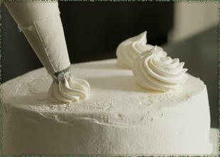 ホールケーキ制作写真