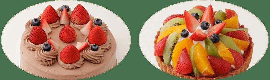 誕生日ケーキの種類写真