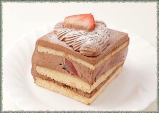 生チョコイチゴサンド(カット)