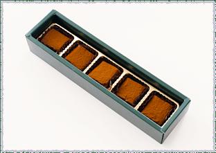 生チョコ 5個入り 商品写真