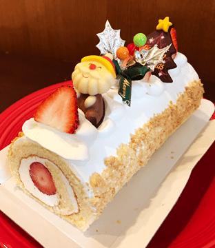 イチゴロールケーキの商品写真