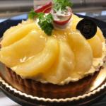 桃のタルトケーキ《季節限定》