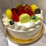 バースデーケーキ注文例