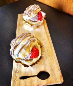 生チョコシュークリーム